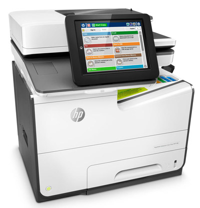 МФУ HP PageWide Enterprise Color MFP 586